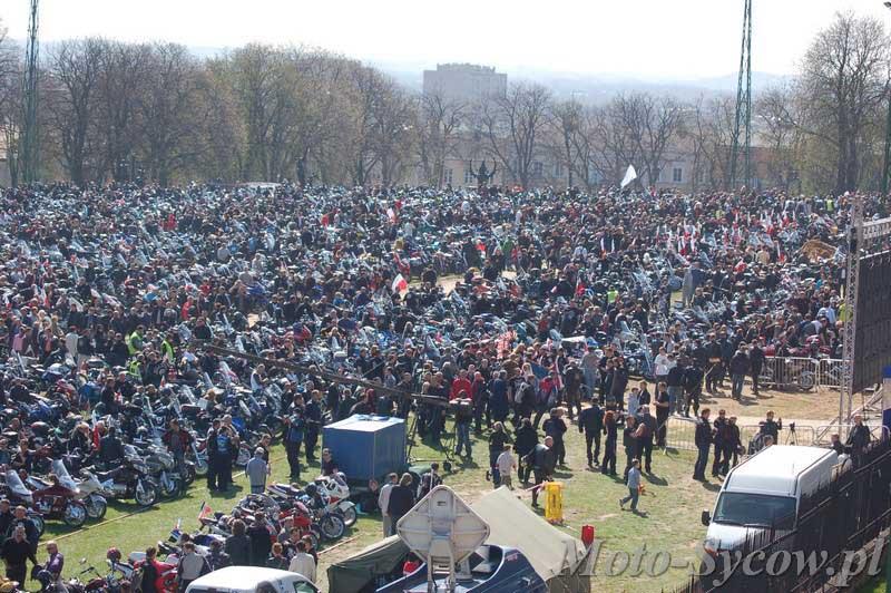 VIII Motocyklowy Zlot Gwiaździsty Jasna Góra 2011 - rozpoczęcie sezonu motocyklowego