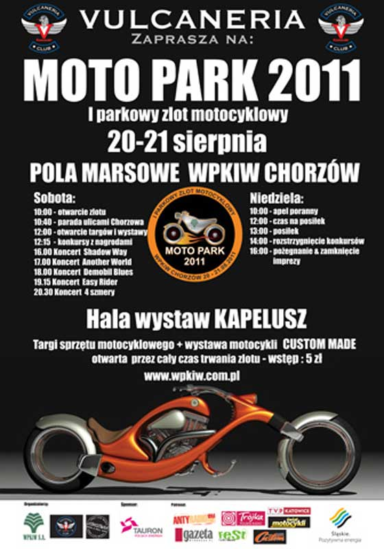 Zlot motocykli - Vulcaneria 2011