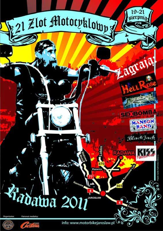 Zlot motocyklowy - Radawa 2011