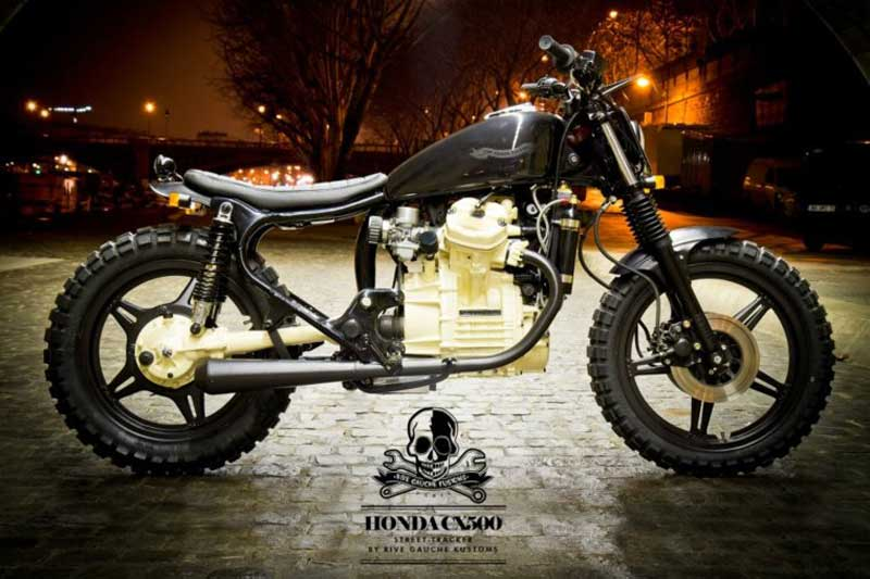 Honda CX500 Street Tracker od Rive Gauche Kustoms