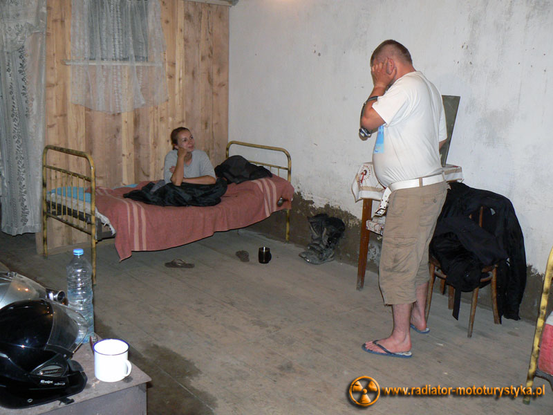 Gruzja - Tekali - nasza sypialnia