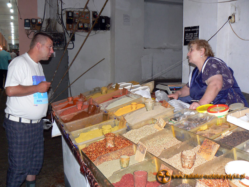Gruzja - targ w Batumi