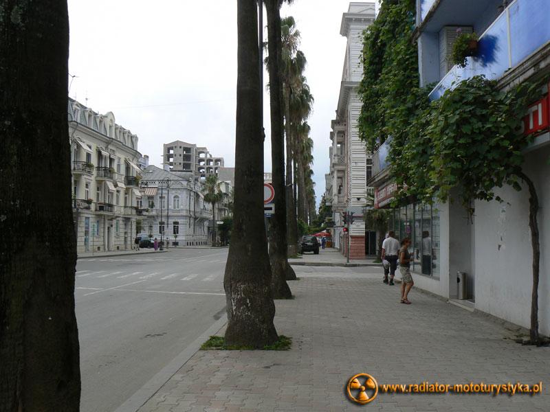 Gruzja - ulice Batumi