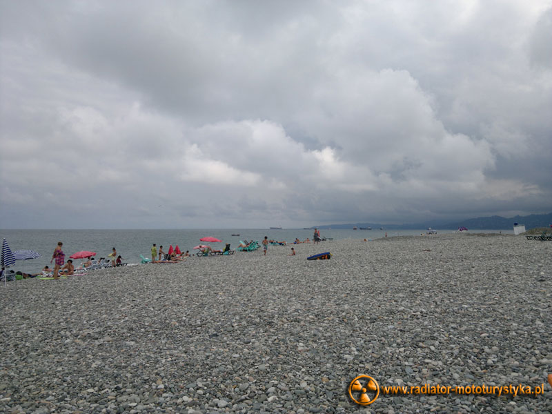 Gruzja - plaże Batumi