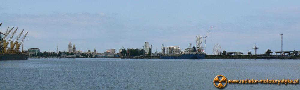 Gruzja - Batumi - panorama miasta