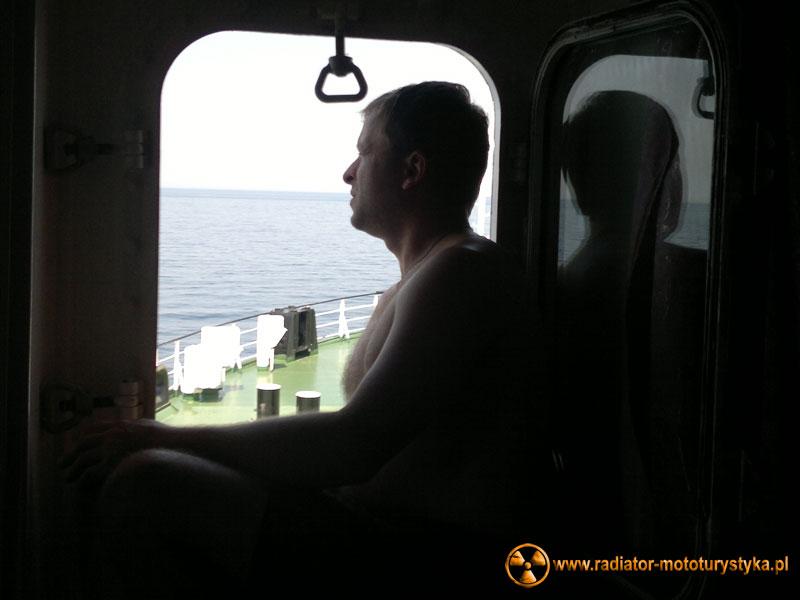 Głazio wypatruje stad delfinów