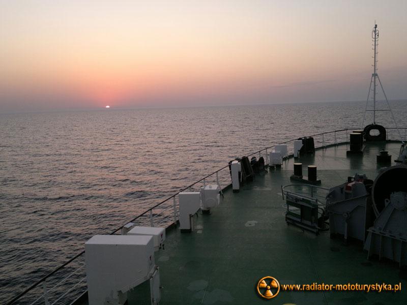 Wschód słońca na Morzu Czarnym