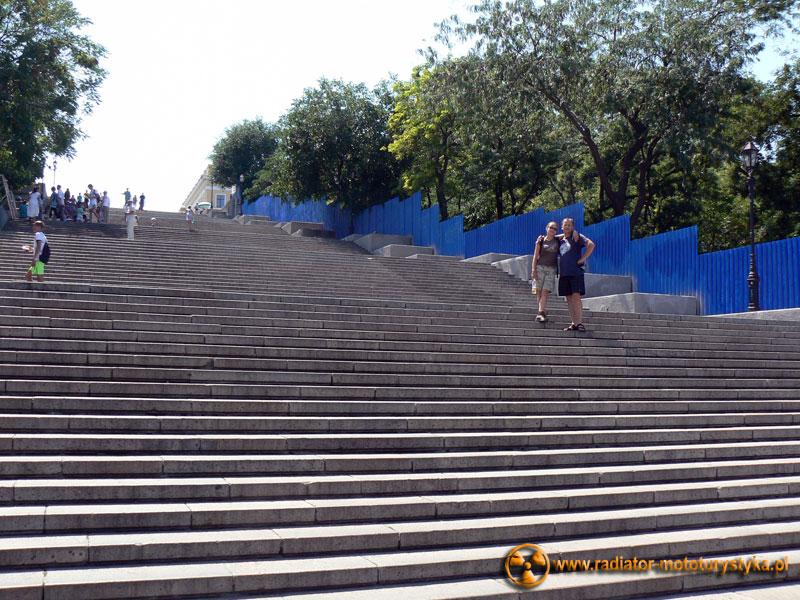Ukraina - Odessa - schody Patiomkina