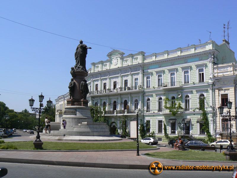 Ukraina - Odessa - pomnik carycy Katarzyny