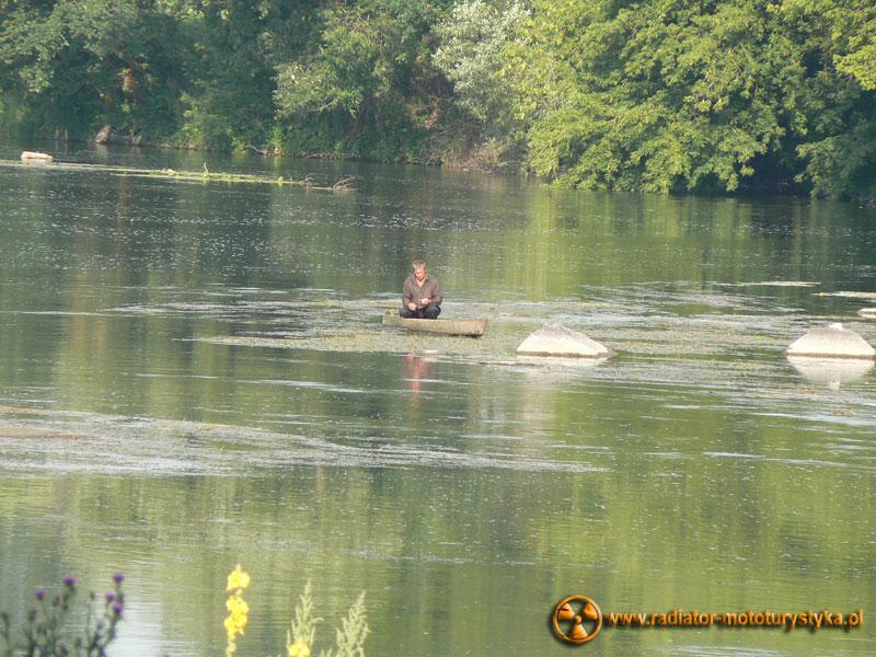 Ukraina - Sokilec-Peczora - nad rzeką Boh