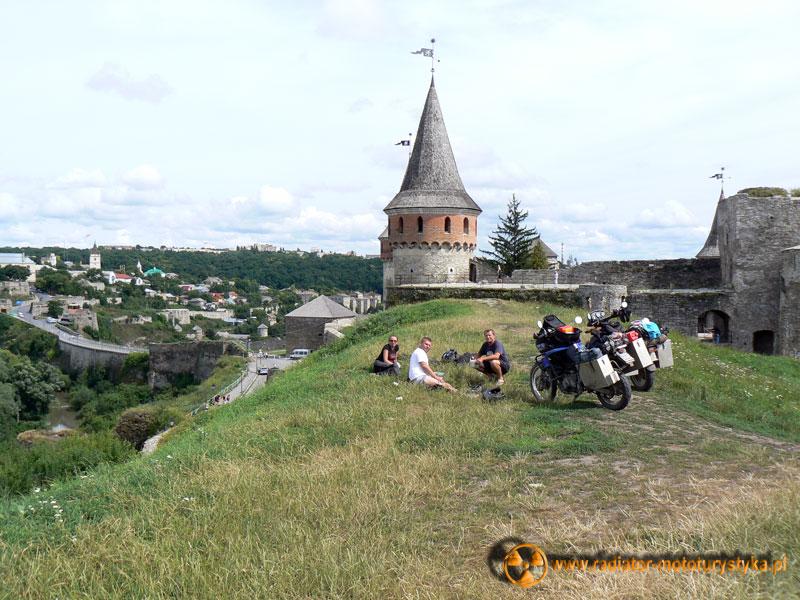 Ukraina - Kamieniec Podolski - przystanek na posiłek