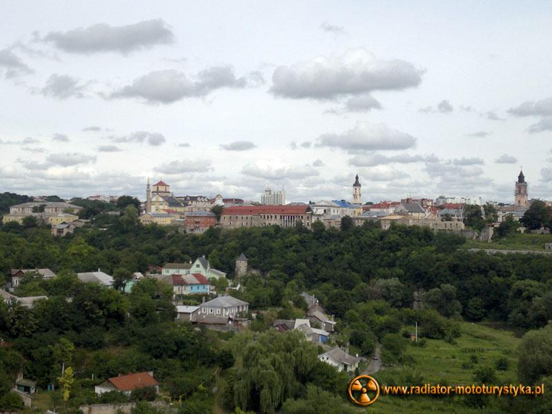 Ukraina - Kamieniec Podolski - widok na stare miasto