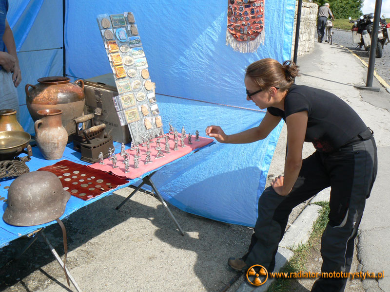 Ukraina - Kamieniec Podolski - ołowiane żołnierzyki