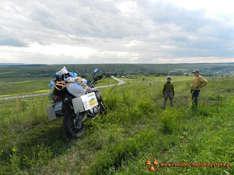 Wprawa motocyklowa. Dookoła na dwóch kołach - Mołdawia.
