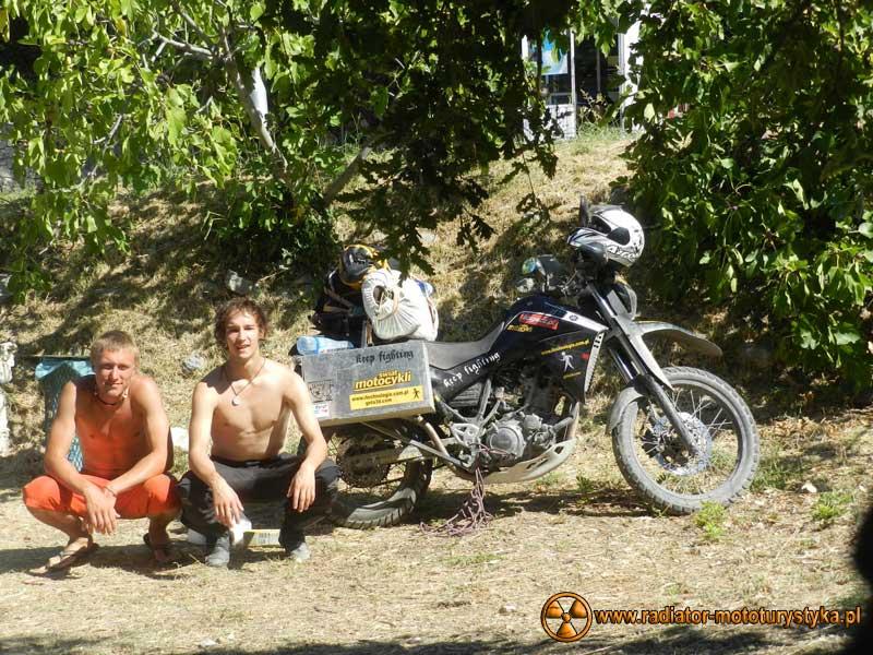 Wprawa motocyklowa. Dookoła na dwóch kołach - Grecja.