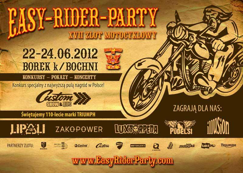 XVII Easy Rider Party - Borek k/Bochni