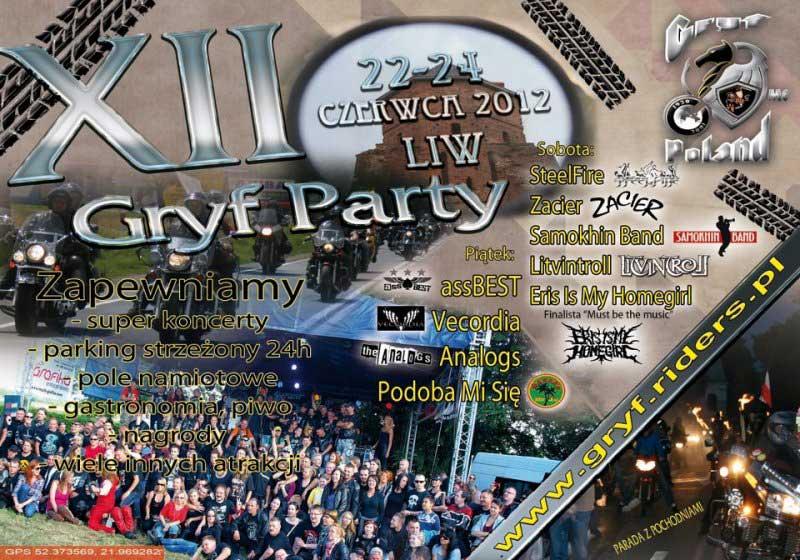 XII GRYFPARTY 2012 - Liw