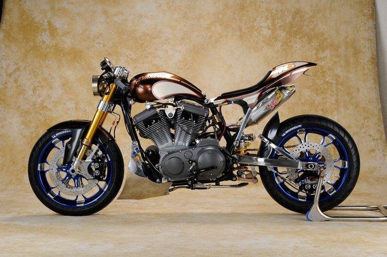 "Harley-Davidson Sportster ""Avanzare"" – azjatycka wizja"
