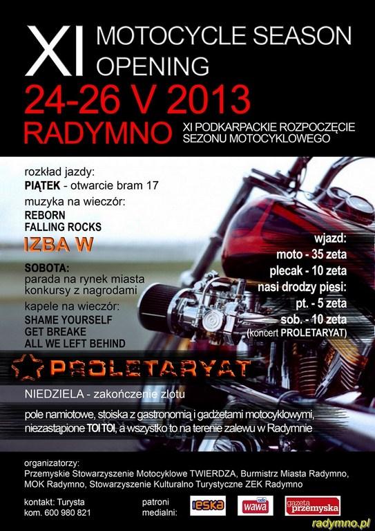 Zloty motocyklowe - maj 2013