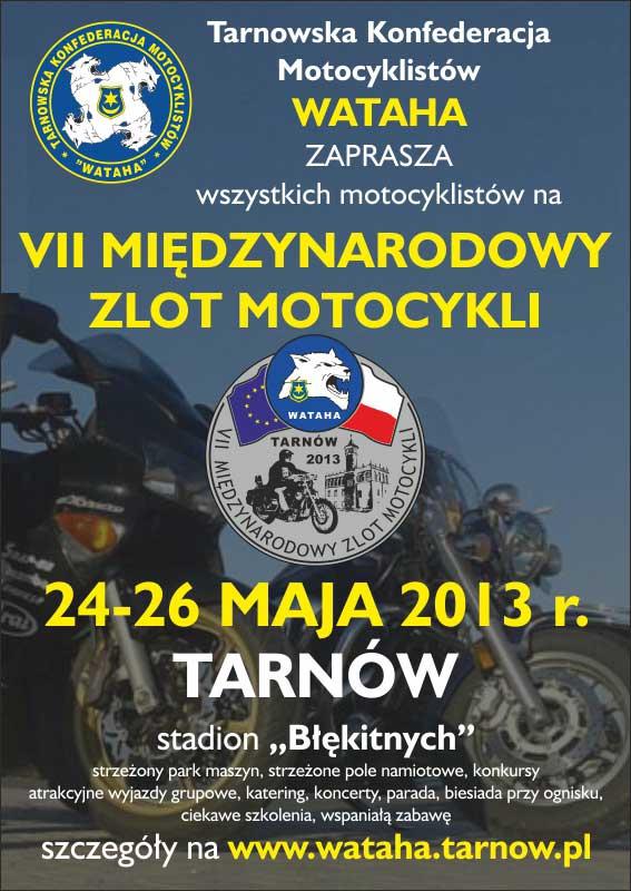 VII Międzynarodowy Zlot Motocykli w Tarnowie