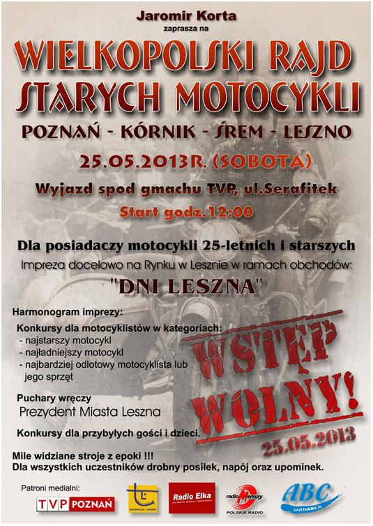 Wielkopolski Rajd Starych Motocykli