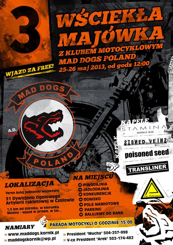 III Wściekła Majówka z Klubem Motocyklowym Mad Dogs Poland