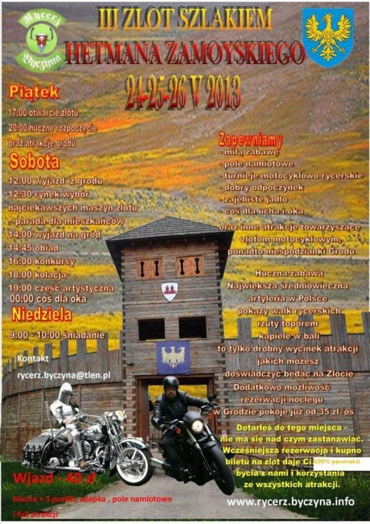 III ZLOT Szlakiem Hetmana Zamoyskiego - Byczyna
