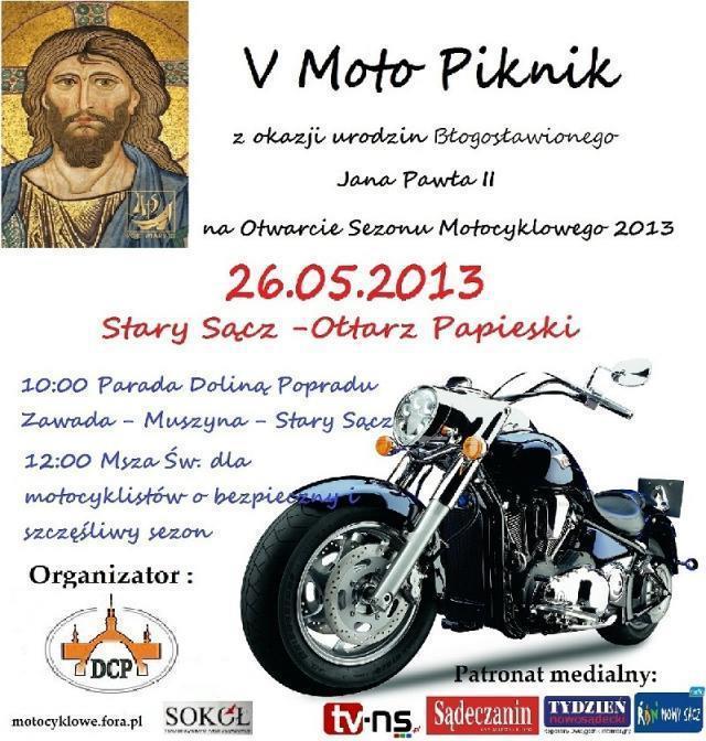 V Moto Piknik - Stary Sącz