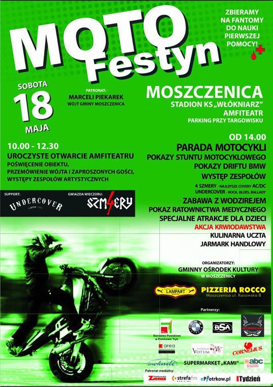 Moto Festyn - Moszczenica 2013