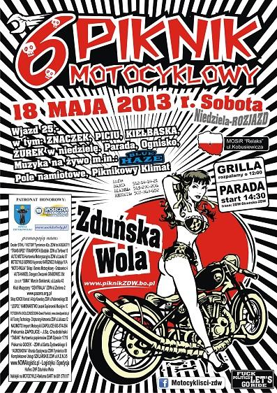 VI Piknik Motocyklow - Zduńska Wola