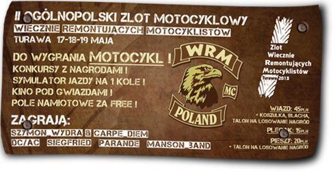 Zlot Motocyklowy - Turawa 2013