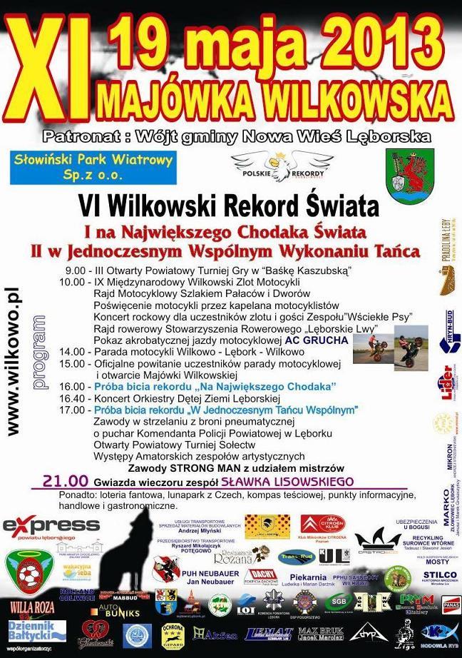Wilkowo - Zlot - Majówka - 2013