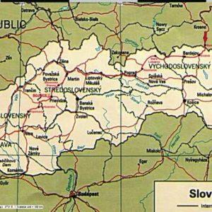 Do Albanii 2009 - trasa przez Słowację