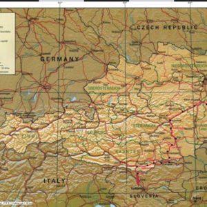 Do Albanii 2009 - trasa przez Austrię