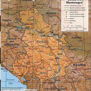 Do Albanii 2009 - trasa przez Serbię