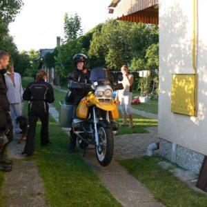 Do Albanii 2009 - start z Lubaczowa