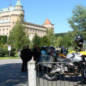Do Albanii 2009 - Słowacja, zamek Bojnice