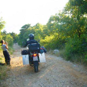 Do Albanii 2009 - poszukiwanie noclegu na dziko w Chorwacji