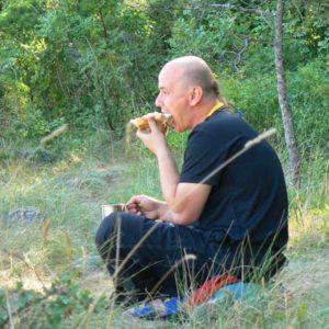 Do Albanii 2009 - śniadanie Haća Chorwacji