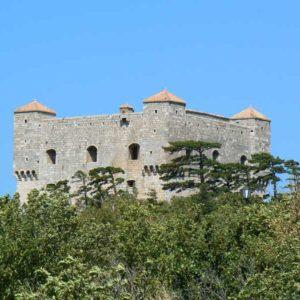 Do Albanii 2009 - zamek Senj w Chorwacji