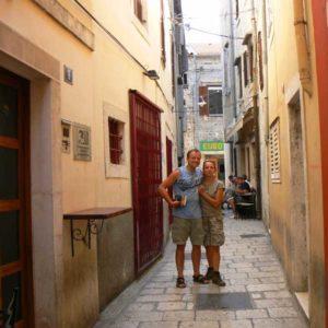 Do Albanii 2009 - Zadar w Chorwacji
