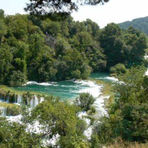 Do Albanii 2009 - Park Narodowy Krka w Chorwacji