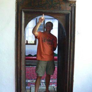 Do Albanii 2009 - klasztor Derwiszów, Blagaj w Bośni i Hercegowinie