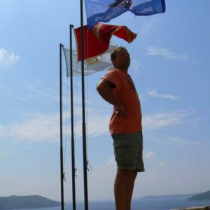 Do Albanii 2009 - Hercegnovi w Czarnogórze