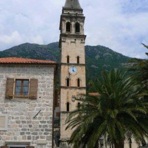 Do Albanii 2009 - Perast w Czarnogórze