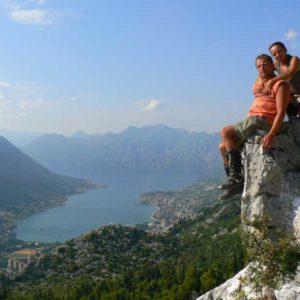 Do Albanii 2009 - Boka KOtorska w Czarnogórze
