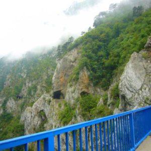 Do Albanii 2009 - kanion rzeki Piva w Czarnogórze