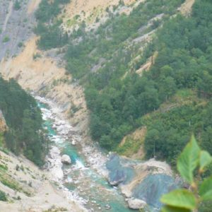 Do Albanii 2009 - kanion rzeki Tara w Czarnogórze