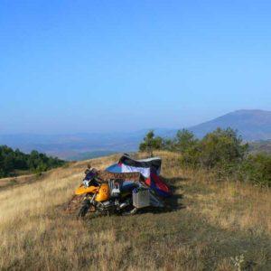 Do Albanii 2009 - albańskie widoki w drodze do Macedonii