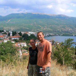 Do Albanii 2009 - Ochryda w Macedonii